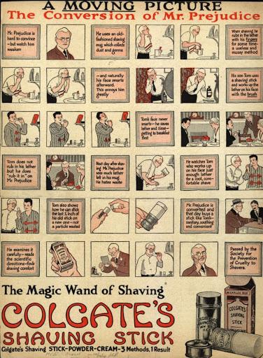 Colgate Shaving Stick Publicité