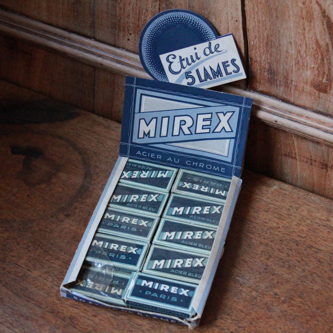 Présentoir de lames Mirex