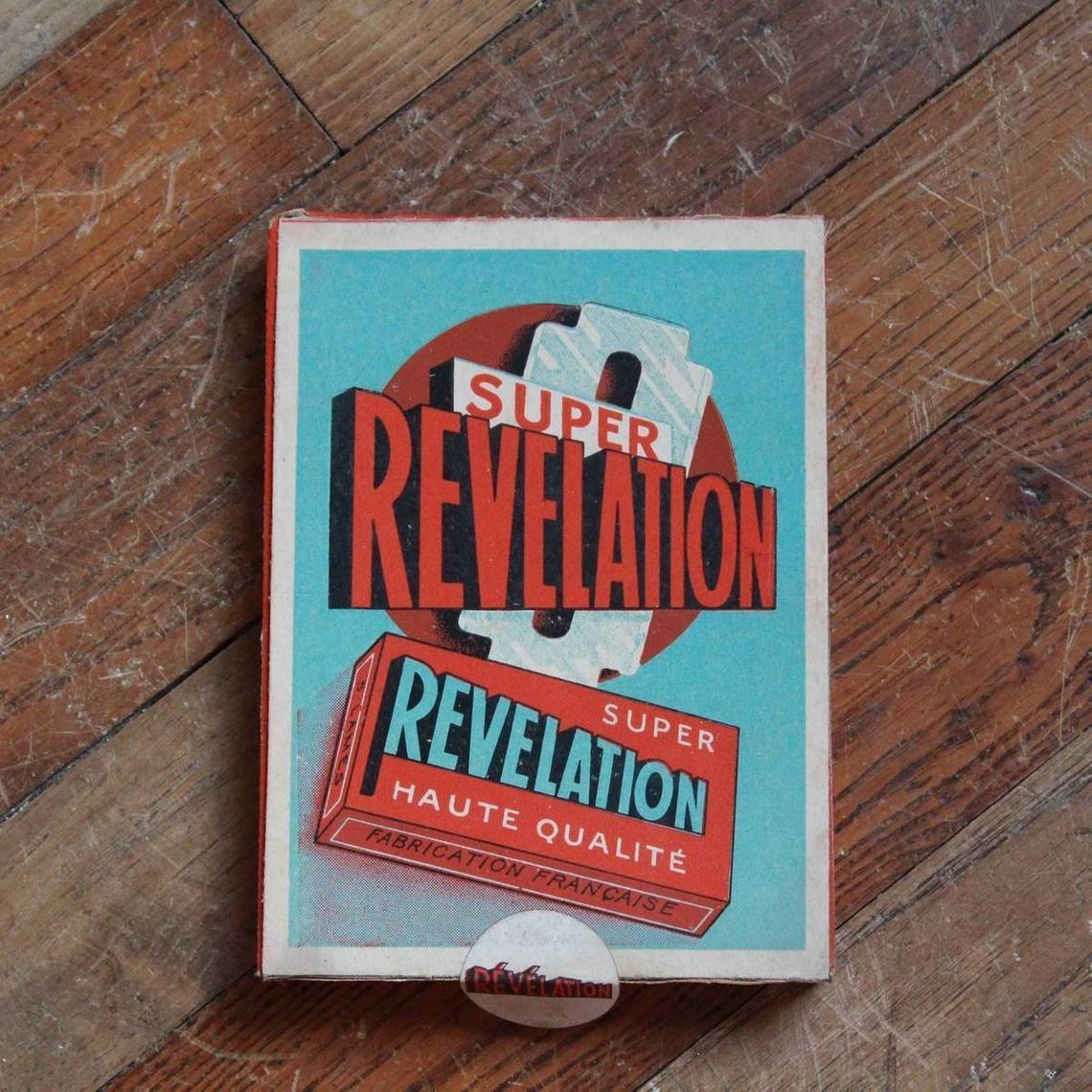 Présentoir de lames Super Revelation