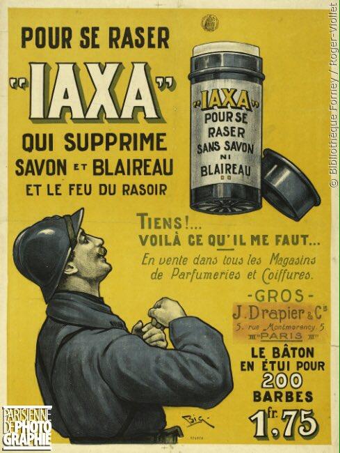 Savon de rasage Iaxa - 1914/1918
