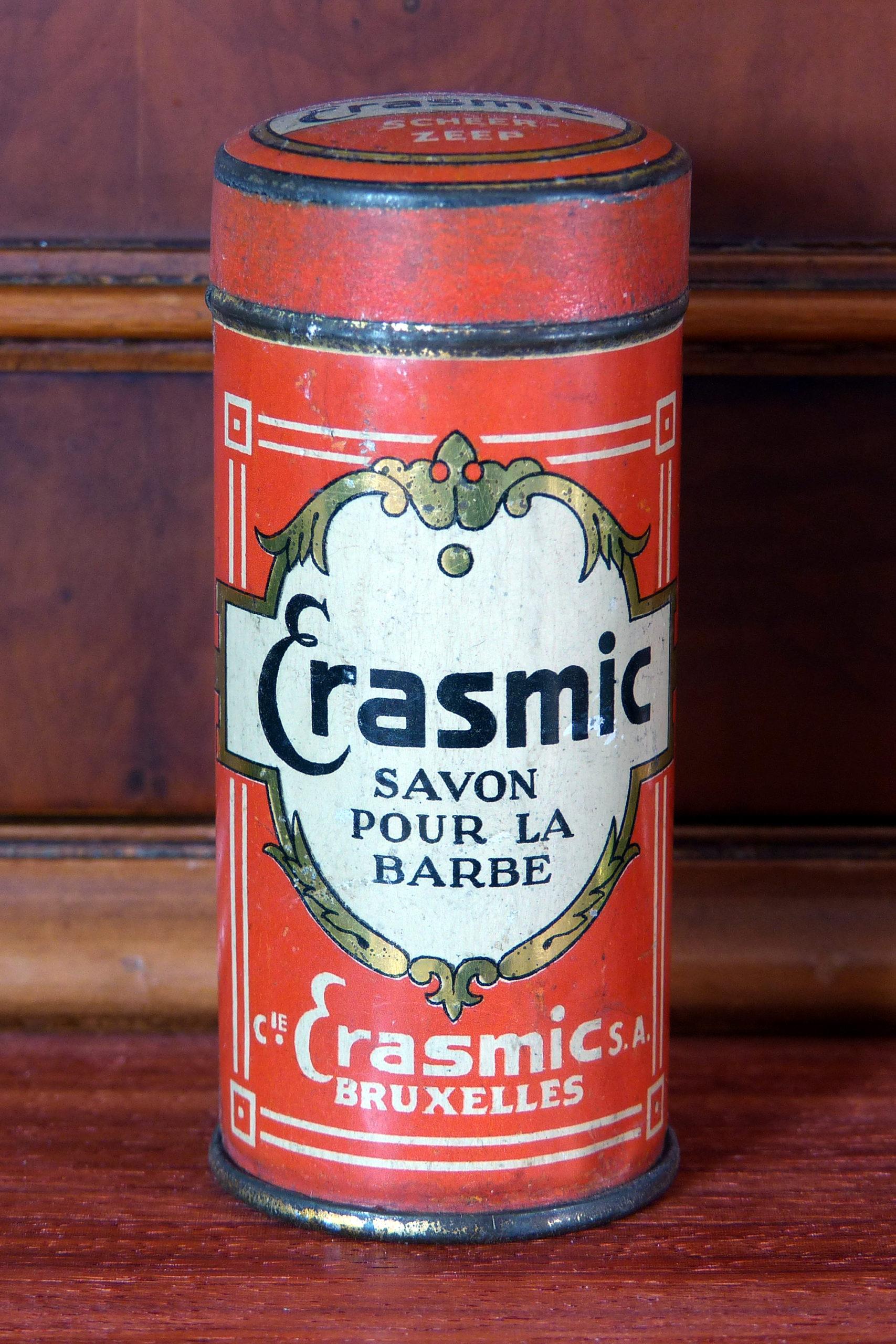 Stick Savon pour la Barbe Erasmic