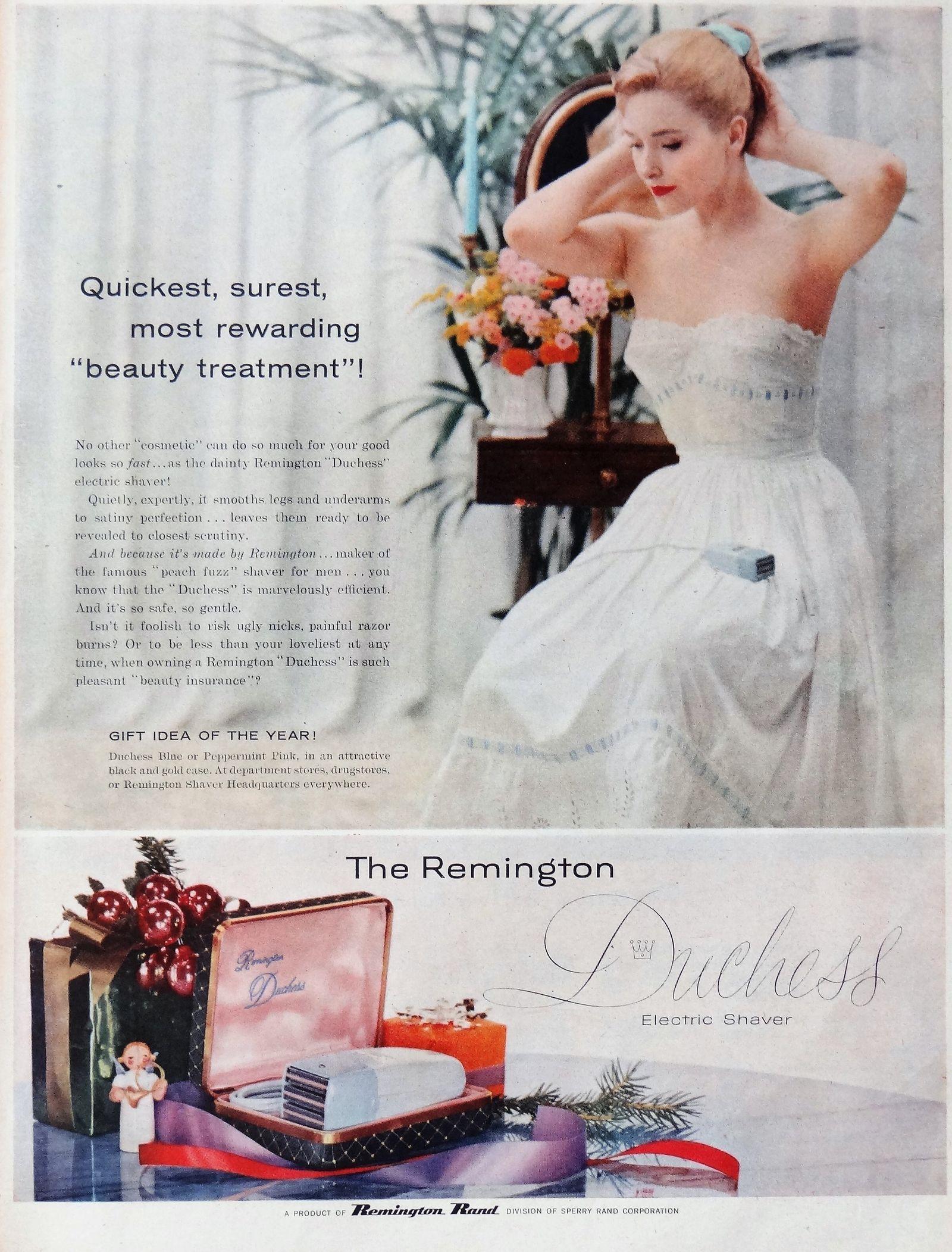 Affiche Remington Duchess 1956