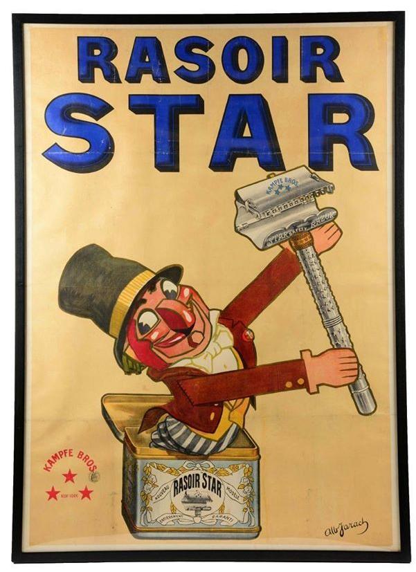 Poster Rasoir Star