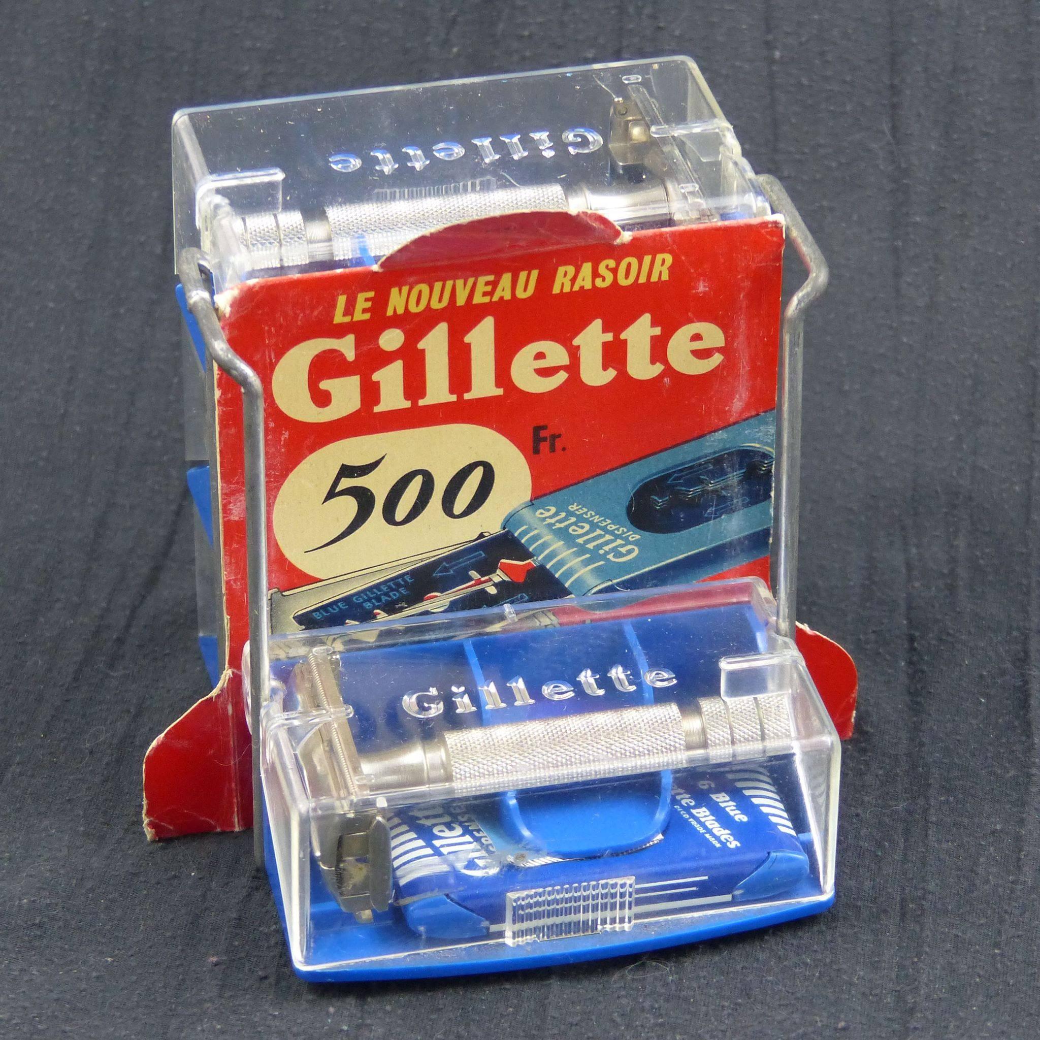 Présentoir Gillette Rocket HD