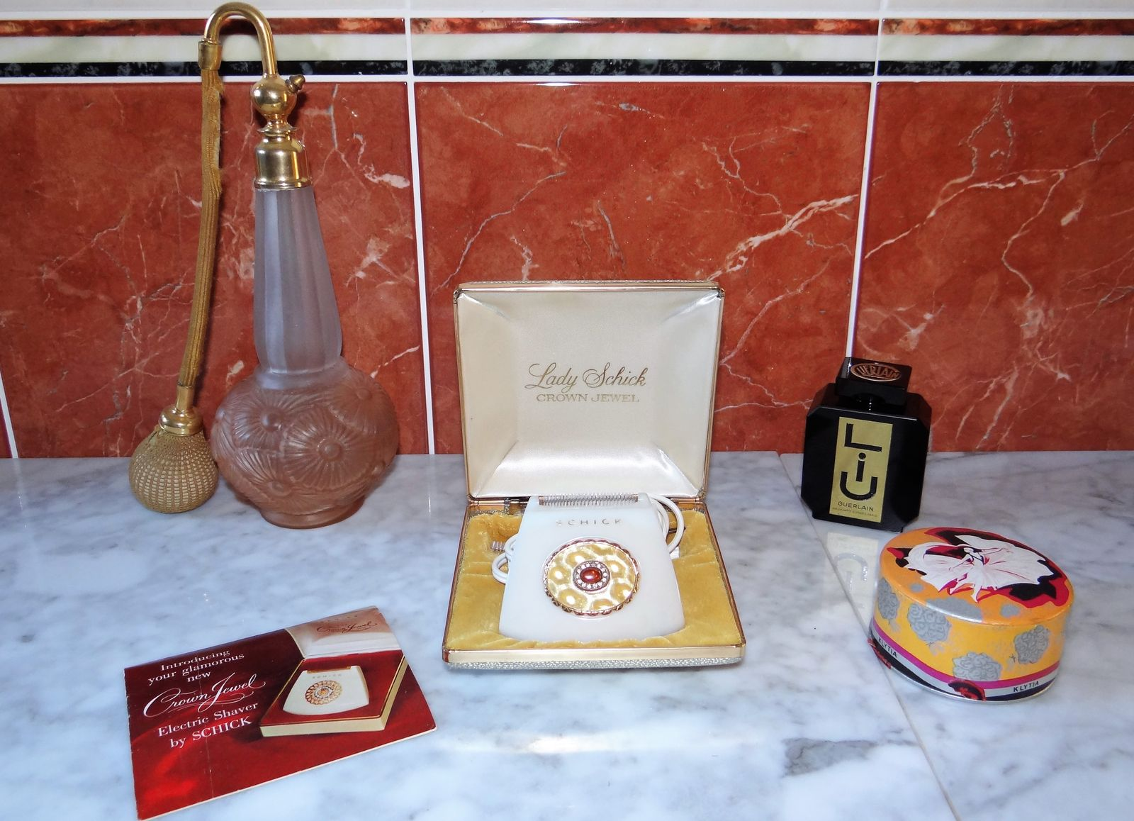 Schick mod 110 Crown Jewel 1960 USA