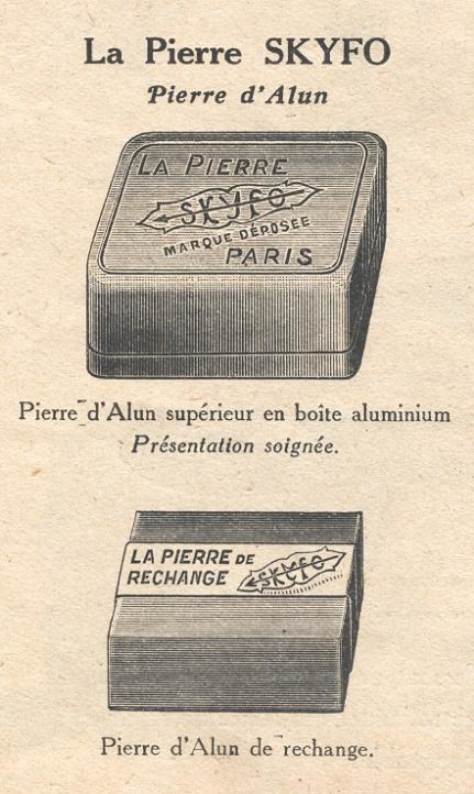 Catalogue Pierre d'alun Skyfo