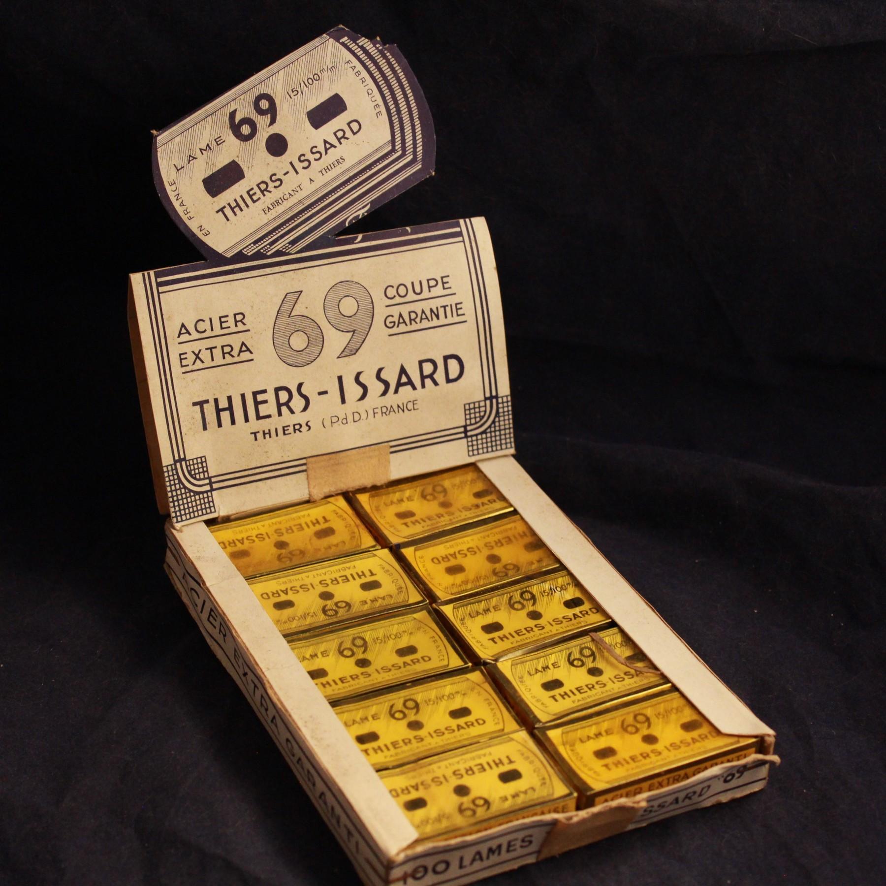 Présentoir Lames Thiers Issard 69