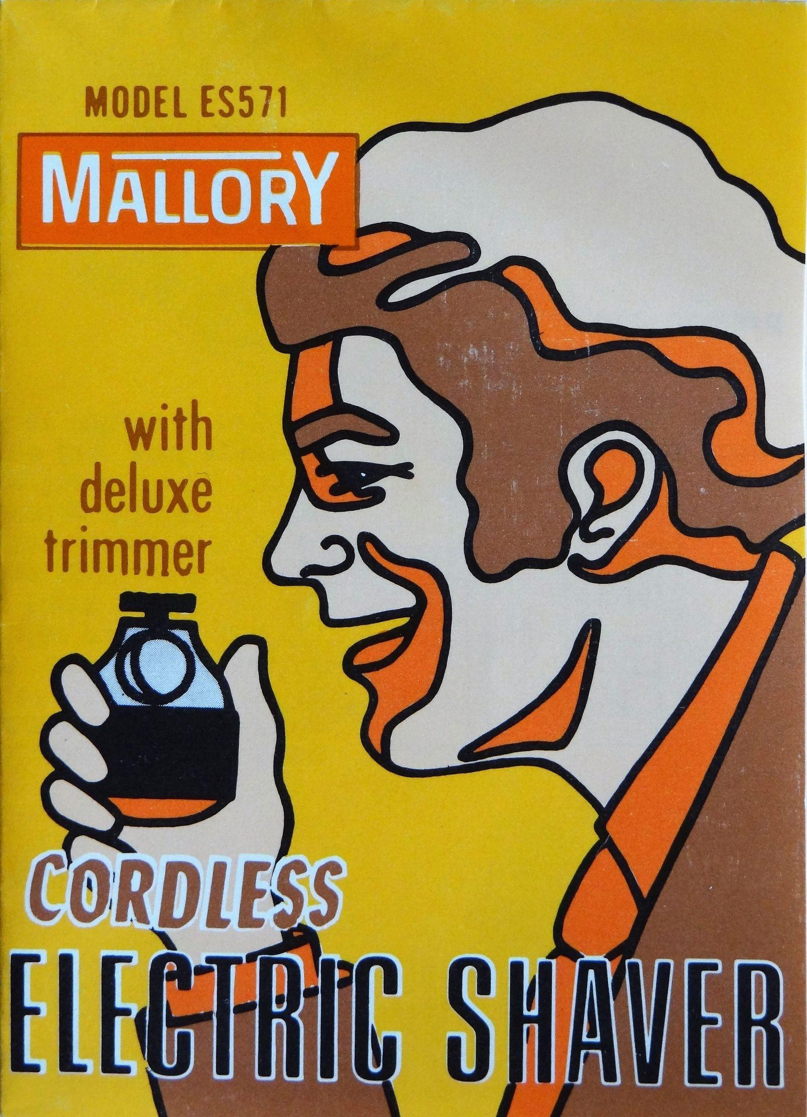 Publicité Rasoir MALLORY ES 571
