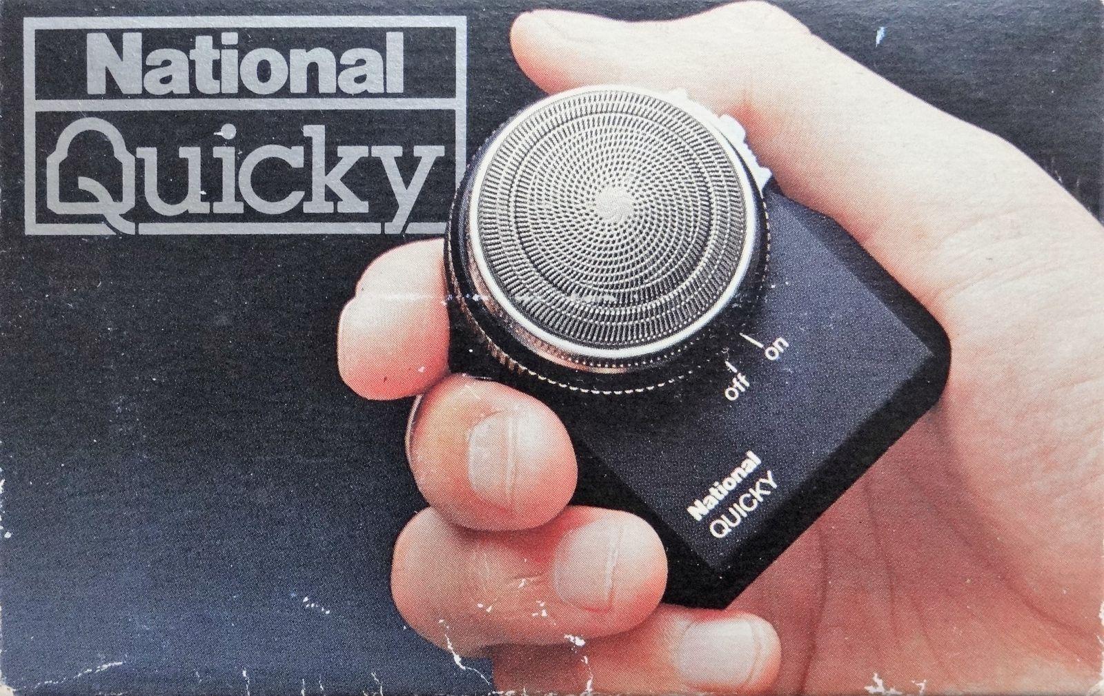 Publicité Rasoir NATIONAL Quicky