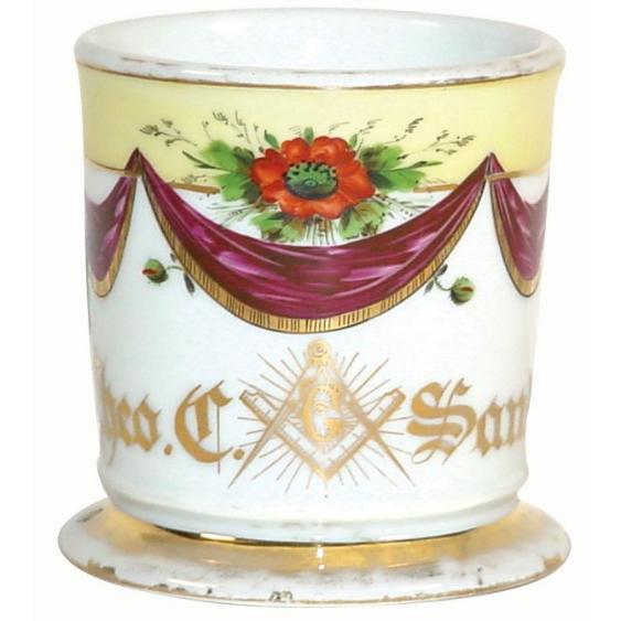 Tasse de rasage - Franc-Maçon-2