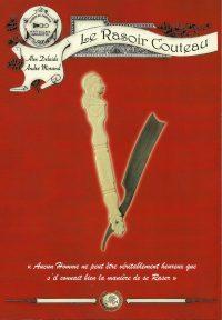 Le rasoir couteau